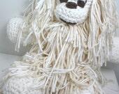 YarNed the Yeti - A Cuddly Handmade Yeti Doll