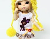 B023 - Lati Yellow , pukifee dress (without hat)