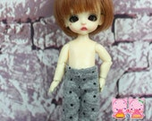 A149 - Pants for Pukipuki / felix brownie doll / lati white sp / obitsu 11 cms.