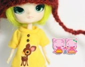 B001 - Little dal outfits (dress and hat)