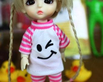 Lati Yellow / pukifee outfits (T-shirt and pants)