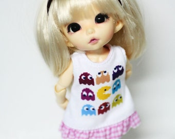 B121 - Lati yellow / pukifee outfits (Dress and socks)