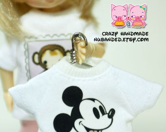 A106 - Lati Yellow / pukifee micky mouse T-shirt