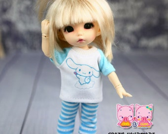 B107 - Lati Yellow / pukifee outfits (T-shirt and pants)