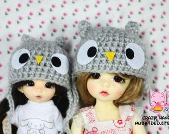 Little owl Hat for lati yellow /  pukifee