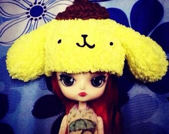 Little cute purin crochet hat