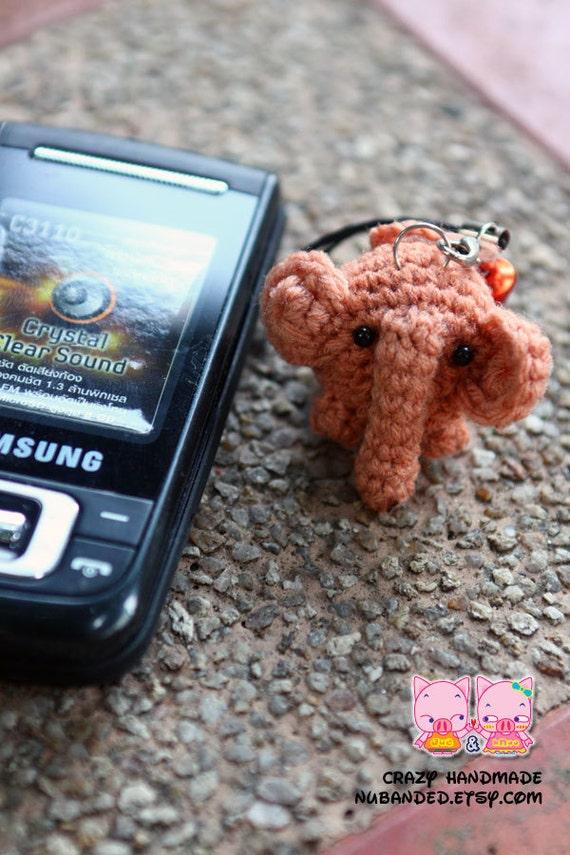 Amigurumi Penguin Cell Phone Strap : Amigurumi Cell Phone Strap