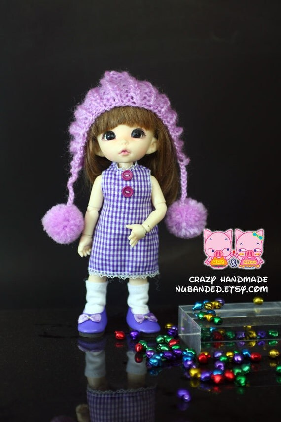 D011 - Lati yellow / Pukifee  / muichan Outfits (Dress , hat and socks)