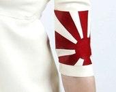 Japanese Rising Sun Latex arm band