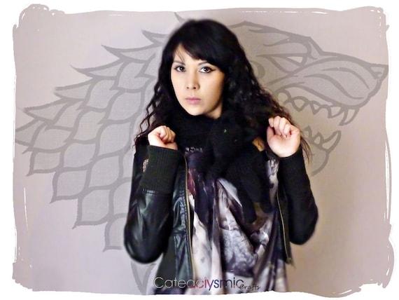 Game of Thrones Inspired Direwolf Scarf (Shaggydog)