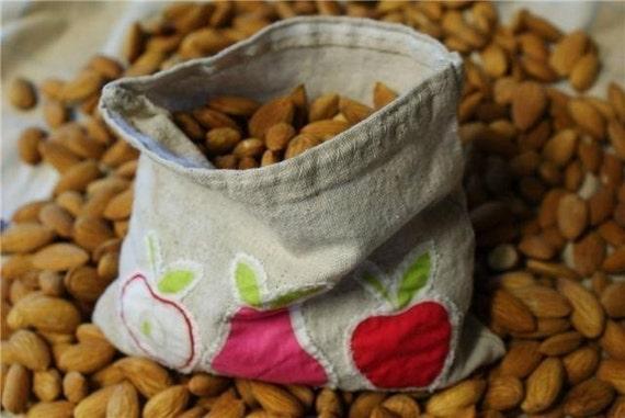 3 Reusable Le Petit Snack Sandwich Bags