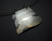 Waves of Mystery - Fine Silver Pendant