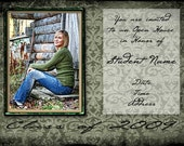 Green Volare 5x7 Grad Card Now Available