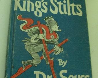1939 The King's Stilts By Dr. Seuss Children's Book (Code b)