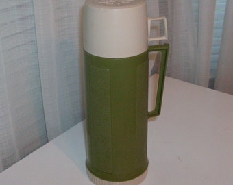 Avocado And Sand Thermos Vacuum Bottle