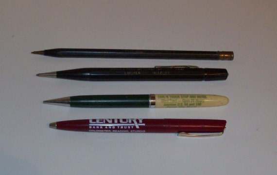 Mechanical Pencils and Ball Point Pen (2) (Code p)