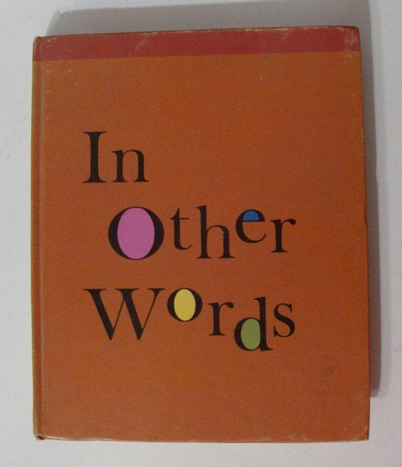 1968 In Other Words I - Children's Beginning Thesaurus (Code b)
