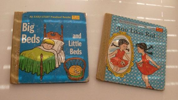 Two Early-Start Preschool Reader Children Books