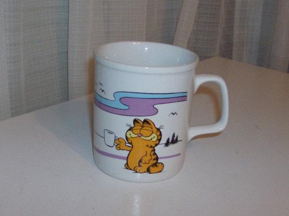1981 Garfield Coffee Mug by Enesco