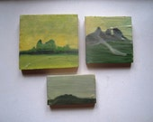 Last Summer - Encaustic Grouping