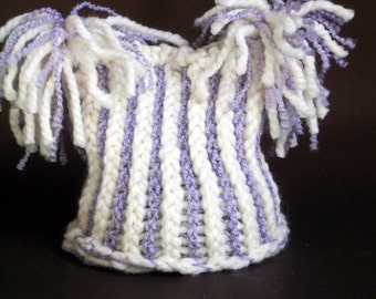 Flop Top Baby's Hat / Super Chunky