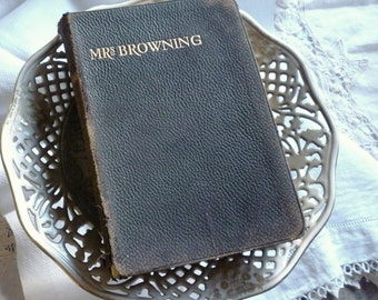 C1887 Mrs Browning's Poetical Works