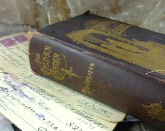 c1888 The Golden Censer Antique Book
