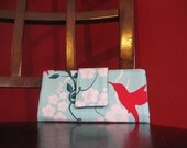 Must have wallet - Hummingbird in Teal