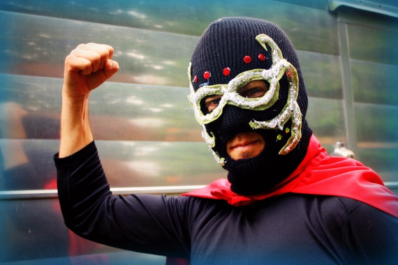 Mexican Wrestler Mask Kit