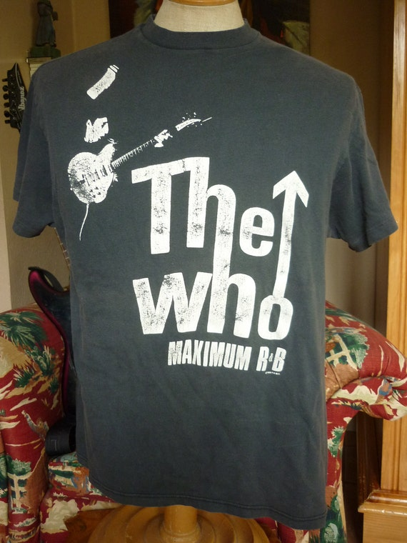 Original The Who Rock Concert Tee 1989 The Kids are Allright Tour