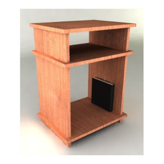 Unavailable listing on etsy for Free nightstand woodworking plans