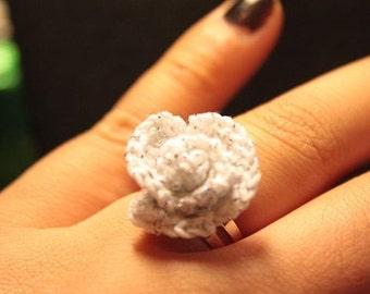 Rose Ring Silver