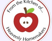 Custom Kitchen Labels, Stickers - Personalized for YOU