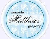 Custom Wedding or Bridal Shower Labels, Stickers - 2.5 inch round - Personalized for YOU