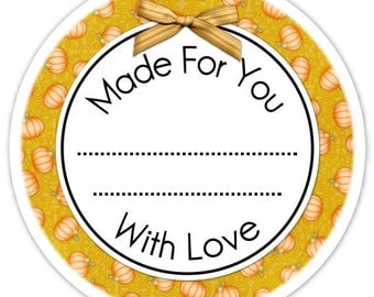 Custom Kitchen or Canning Labels, Made For You Stickers, Personalized for YOU