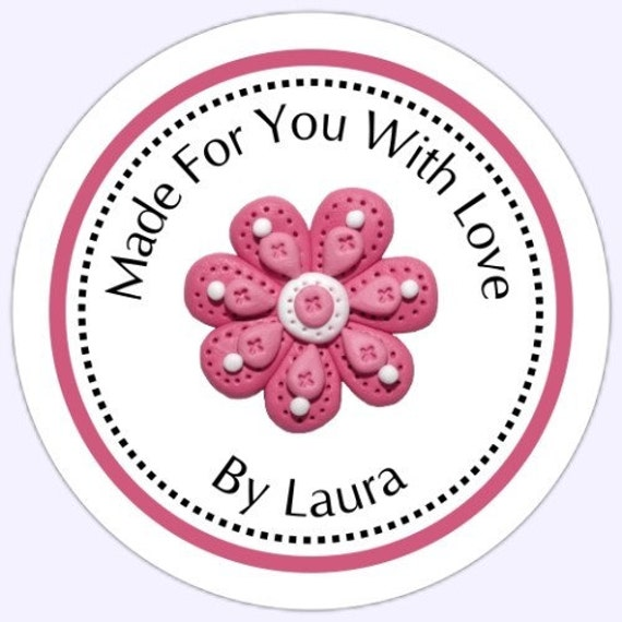 Custom Made For You Labels, Custom Stickers - Personalized for YOU