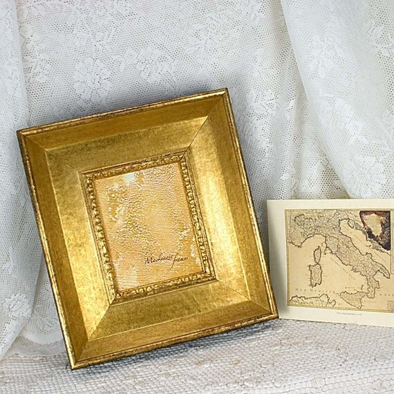 4x5 Wide Old Gold Frame for Photos Oil Paintings Wedding and Other Images
