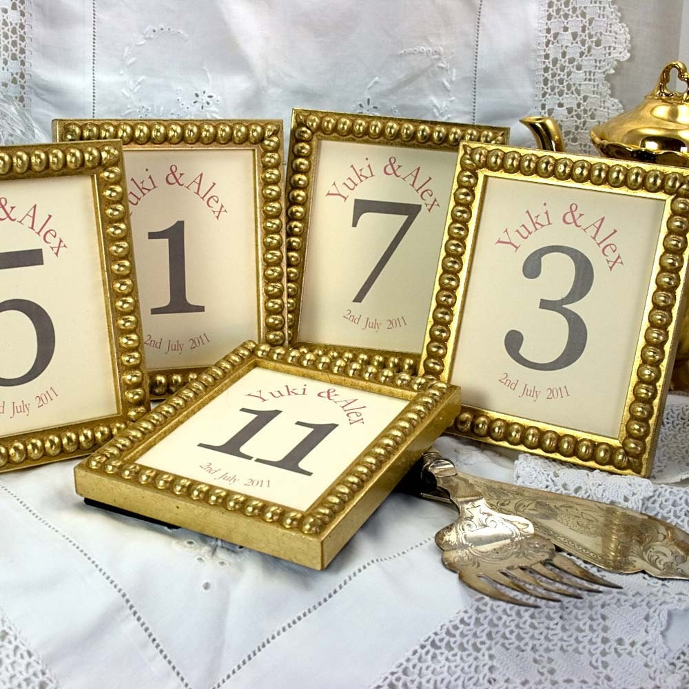 12 frames 4x5 inch for table numbers or photos for wedding and for Table numbers