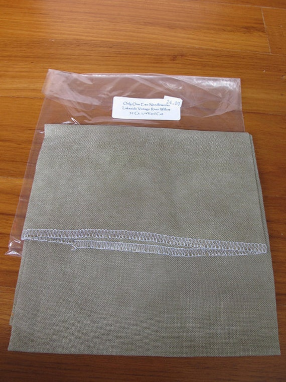 Lakeside Linens 32count Vintage River Willow linen