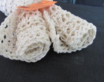 Peroxide White Organic Hemp Washcloths