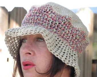 Organic Hemp and Cotton Sun Hat