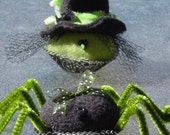 MINI PATTERN..............................Spider and Witchy cup cakes