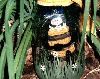 PATTERN   ............................................ Buzz in a canning jar