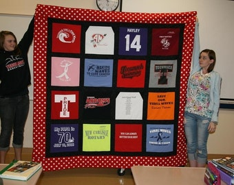 full size t shirt quilt