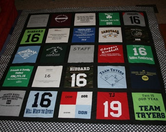 queen size t shirt quilt