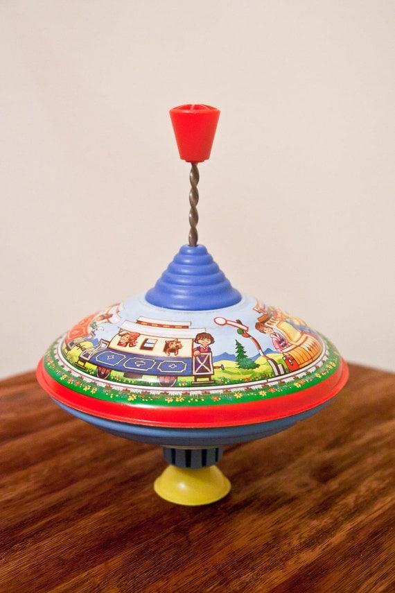 RESERVED - Vintage Toy Top