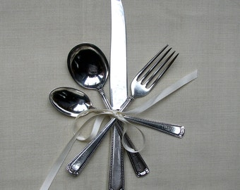 Cartier Child/Youth  Sterling Silver Flatware Set -  4  Pieces