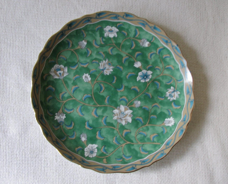 Takahashi San Francisco Etude Hand Painted Plate