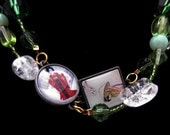 Taste of the Orient - Wrappable Glass Necklace