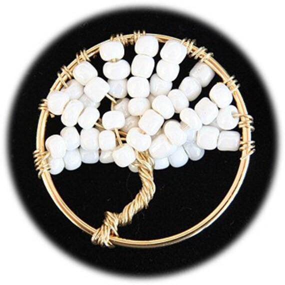 Winter White Tree of Life